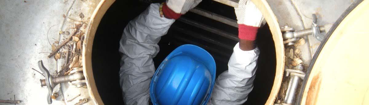 очистка резервуаров от машинного масла