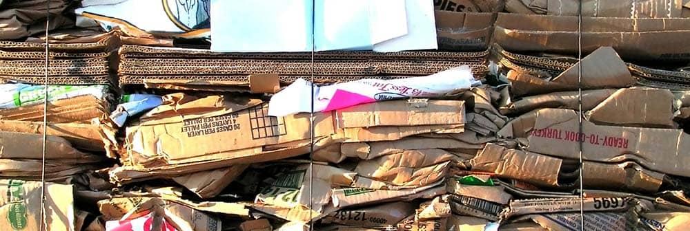 картинка с места утилизации бумажных отходов