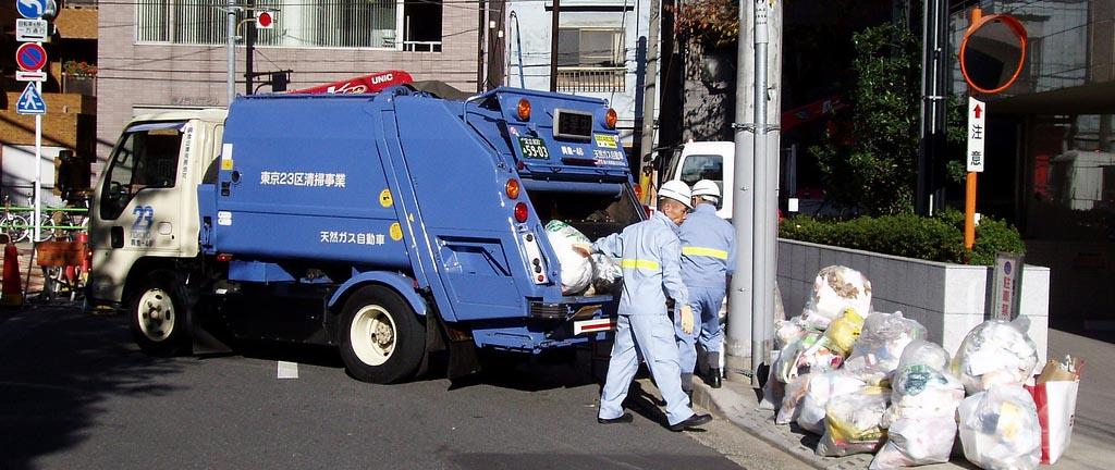 утилизация мусора в Японии